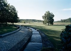Vattentrappa  Augerum cemetery Architectural Photographers, Cemetery, Sidewalk, Country Roads, Architecture, Sweden, Horse Farms, Arquitetura, Side Walkway