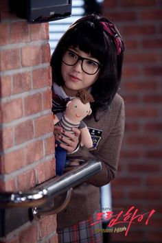 IU from Dream High - LOVED her carrying her Jason doll around! I want a Jason doll! Dream High Quotes, Dream High 2, Kdrama, Top Drama, Korean Girl, Asian Girl, Korean Tv Shows, Boys Before Flowers, Korean Music