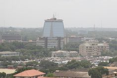 Accra is a very beautiful yet busy place. Here you can see nature in a cosmopolitan environment which is very unique