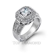 Image result for simon g halo engagement rings