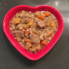Guinness, barley and West Soy Seitan stew