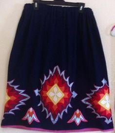 Ribbonwork Skirt