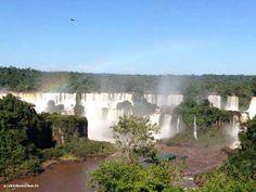 Die Iguazú-Wasserfälle sind eine der atemberaubendsten Sehenswürdigkeiten, die du in #Brasilien kennenlernen wirst. Dieses Bild konnte Veronika während ihres #Freiwilligenarbeit Aufenthalts schießen.