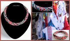 Necklace Ukrainian national traditional folk от LariLaBelle
