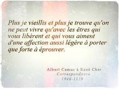 Discover recipes, home ideas, style inspiration and other ideas to try. Albert Camus, Pretty Words, Love Words, Mantra, Words Quotes, Me Quotes, Image Citation, Magic Quotes, Life Quotes Love
