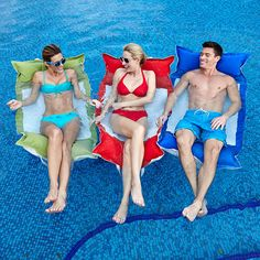 This is not just an ordinary pool float!