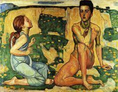 Hodler, Ferdinand (1853 - 1918)  Spring