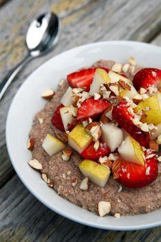 Cauliflower Porridge | POPSUGAR Fitness