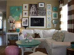 Love for the living room wall-decor