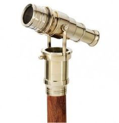 This is called a system stick, that is a walking stick which turns into something else or conceals something inside. This is a telescope just like the one Poirot uses!
