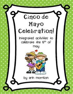 Your students will love learning about Cinco de Mayo with these fun and meaningful learning activities!