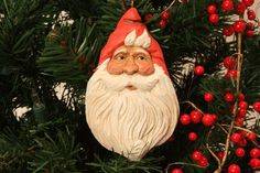 Country Claus, carved by Susan L Hendrix. Check out my website for carvings to buy; wasatchwoodcarver.com