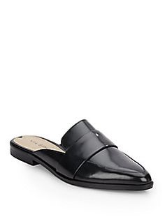 Lauryn Leather Slippers
