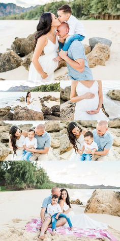 Oahu Family and Maternity Photographer    What a Beautiful Beach Family Maternity Session with this family! I loved watching the loved shared between them and couldn't be anymore excited for their newest addition! Check out more images by clicking the photo above!