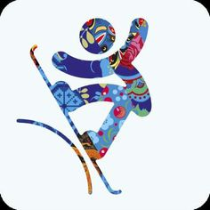 The 2014 Winter Olympic Games are Prepping with Psychedelic Images #psychedelicart trendhunter.com