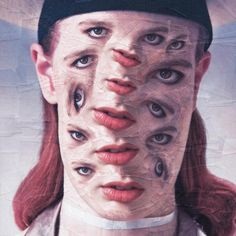 Glasgowest une série de portraits étranges et surréalistes del'artiste irlandaiseLola Dupre, qui réalise à la main des collages en hommage aux person