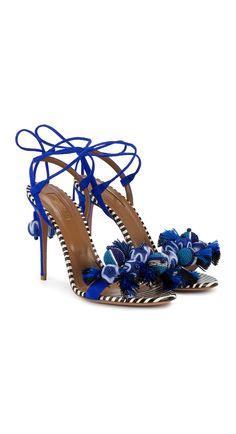 AQUAZZURA 'Tropicana' sandals. Shop the hottest pieces this month at Farfetch.