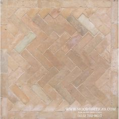 Manufacturer of Moroccan terracotta brick tiles known in Morocco as Bejmat tiles. Each tile is x unglazed clay tile very durable to use for pool deck floors, patio floors, kitchen and bathroom floors. Patio Tiles, Patio Flooring, Outdoor Tiles, Brick Tiles, Brick Flooring, Kitchen Flooring, Entryway Flooring, Terracotta Floor, Clay Tiles
