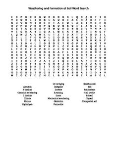 Stars galaxies and the universe word search the star for Give the scientific word for soil