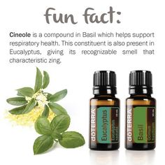 Basil essential oil compound