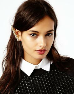 Ear cuffs punk up your style