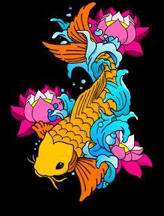 koi fish yin yang tattoos | kent tattoo art: Tattoo Ideas by Nicole Parker