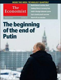 The Economist y sus portadas de Putin / @guerraeterna | #socialgeo
