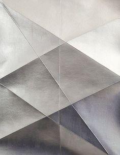 Inspiration for pleats cushion: silver folds #design #interiordesign @TerezaPregoD choices