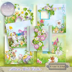 Kids Easter Album (PU/S4H) by Bee Creation