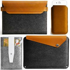 Mujjo, a Dutch design brand, introduces The Originals, a new line of handcrafted sleeves made from natural wool felt and organic tanned leather for Apple devices.
