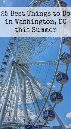 What to do with Kids in Washington, DC this summer