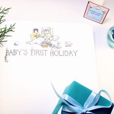 Baby's First Holiday - Mother Stork's Baby Book