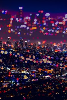 Los Angeles Lights by North Sky Photography