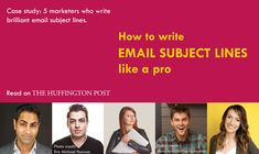 How to write a good subject line? Email marketing masters examples: Ramit Sethi, Derek Helpern, Mariah Coz, Charlie Hoehn and Melyssa Griffin Marketing Tools, Email Marketing, Marketing News, Affiliate Marketing, Digital Marketing, Cannabis, Write An Email, Email Subject Lines, Melyssa Griffin