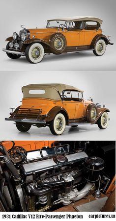 1931 Cadillac V12 Five-Passenger Phaeton. http://carpictures.us