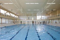 Gallery of Multifunctional swimming pool complex De Geusselt / Slangen+Koenis Architects - 8
