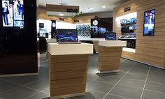 Retail Design | Shop Design | Electrical Store Interior | HP brand store