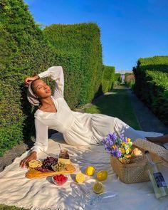 Feminine Energy, Divine Feminine, Feminine Style, Bougie Black Girl, Picnic Date, Beach Poses, Dress Link, Modest Fashion, 90s Fashion