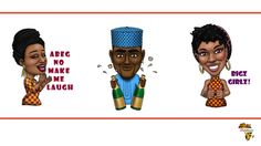 Check out this African themed stickers by Afro emoji on bellafricana digest