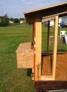 Vfem's Chickens Go Green 2008 - Chicken Coop