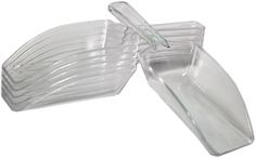 Clear Candy Scoops for Candy Buffets 6ct.