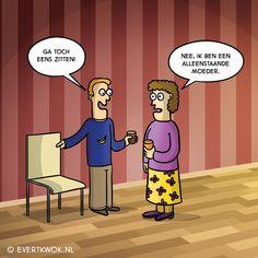 5 cartoons uit Evert Kwok 5! - Evert Kwok