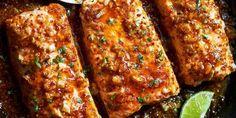Tavada Baharatlı Ballı Somon Fileto Fish Recipes, Seafood Recipes, Meatloaf, Salmon, Cooking, Ali, Hotels, Search, Image
