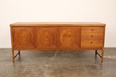 Mid-Century Modern Credenza from England