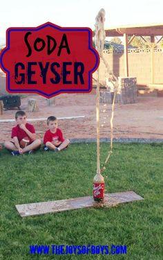 Soda Geyser - Simple