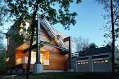 recycled+homes | Recycled Houses - Repurposed Steel and Concrete from the I-93