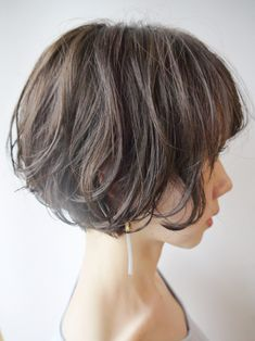 Looking for the best way to bob hairstyles 2019 to get new bob look hair ? It's a great idea to have bob hairstyle for women and girls who have hairstyle way. You can get adorable and stunning look with… Continue Reading → Stacked Bob Hairstyles, Pixie Hairstyles, Pixie Haircut, Summer Hairstyles, Hairstyle Short, Hairstyle Ideas, Haircut Short, Wavy Hair, Her Hair
