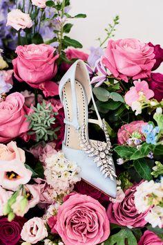 Manolo Blahnik bridal shoe heaven