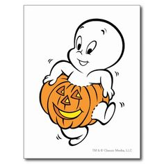 Casper The Friendly Ghost Coloring Pages Moldes Halloween, Halloween Clipart, Halloween Cards, Happy Halloween, Halloween Cartoons, Halloween Drawings, Halloween 2019, Goblin Pictures, Pumpkin Coloring Pages