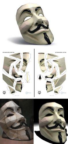 Fabriquez votre masque ANONYMOUS